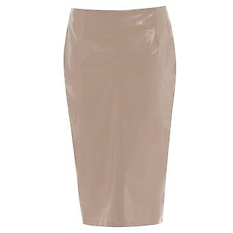 Miss Selfridge Wet Look Skirt