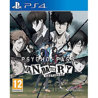 Psycho-Pass felicidad obligatoria PS4 juego