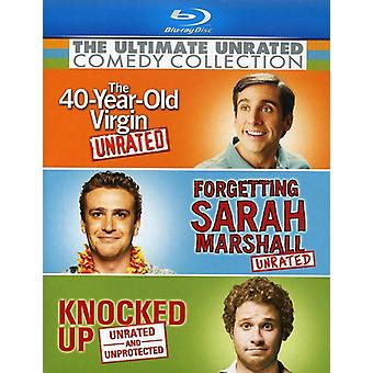 The Ultimate Unrated Comedy Collection [Blu-ray] [3 Discs] [Blu-ray] USA import