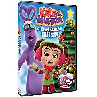 Kate & Mim-Mim: A Christmas Wish [DVD] USA import