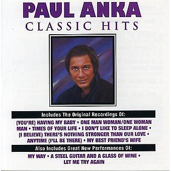 Paul Anka - importación de Estados Unidos Classic Hits [CD]