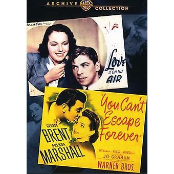 L'amore è nell'aria / You can't Escape Forever [DVD] USA import