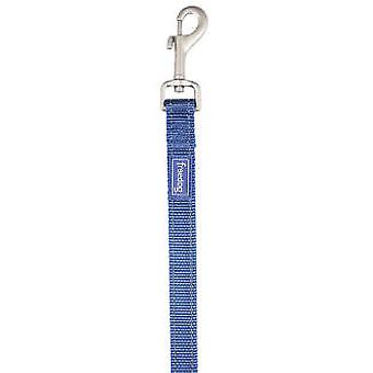 Freedog Tirador nylon reflectante de color Azul para perros (Perros , De paseo , Correas)