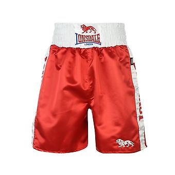Lonsdale Lonsdale Pro Large Logo Trunks - Red & White