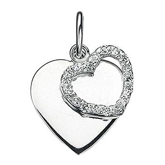 925 Silver Heart Necklace during