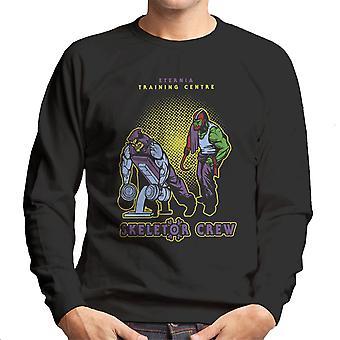 Eternia uddannelse center Skeletor besætning han mand Gym mænds Sweatshirt