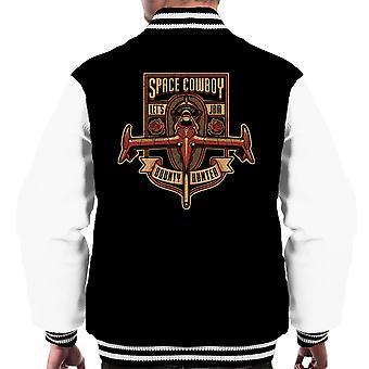 Bare en ydmyg dusørjæger Cowboy Bebop mænds Varsity jakke