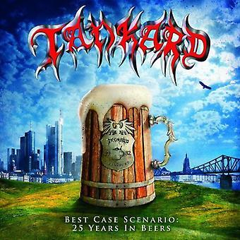 Tankard - importación de mejor caso escenario-25 años en Estados Unidos cervezas [CD]
