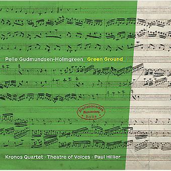 Gudmundsen-Holmgreen / Kronos kvartetten - Gundmundsen-Holmgreen: grøn jorden [CD] USA import
