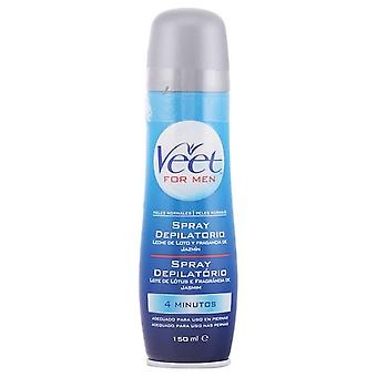 Veet Uomini crema depilatoria Spray 150 Ml pelle normale