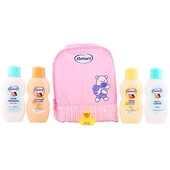 Nenuco Backpack Rosa Lot 4 Pieces (Infanzia , Kits , Cosmetica , Colonie)