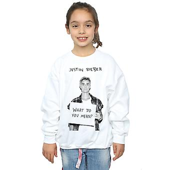 Justin Bieber Girls What Do You Mean Sweatshirt