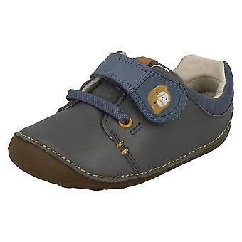 Boys Clarks First Shoes Tiny Sid