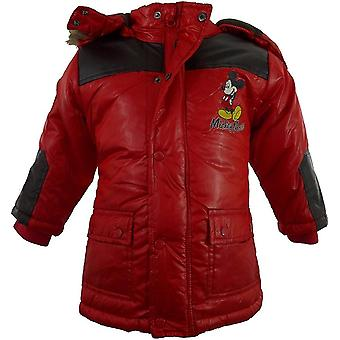 Baby Boys Disney Mickey Mouse Winter Hooded Parka / Jacket