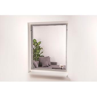 Magnetic insect protection window 130 x 150 cm white
