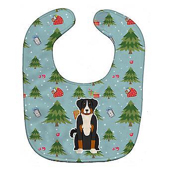 キャロラインズ宝物 BB4703BIB クリスマス Appenzeller Sennenhund 赤ちゃんよだれかけ