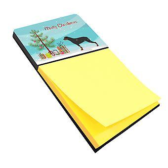 Carolines Treasures  BB2984SN Rottweiler Merry Christmas Tree Sticky Note Holder