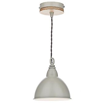Blyton 1 Lighting Pendant complete with Painted Shade