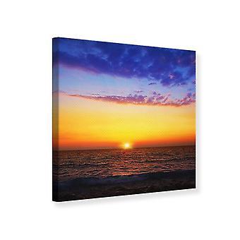 Canvas Print Vibrant Sunset