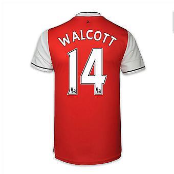 2016-17 arsenal thuis Shirt (Walcott 14) - Kids