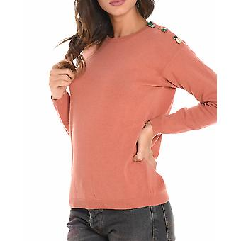 Jucca ladies J2611316373 red wool sweater