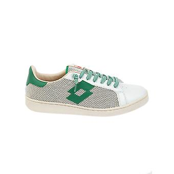 Lotto men's S8815WHTMEADOW White leather of sneakers