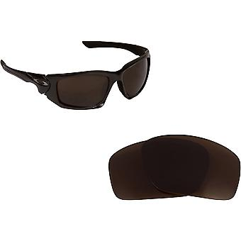 Scalpel Replacement Lenses Polarized Bronze Brown by SEEK fits OAKLEY Sunglasses