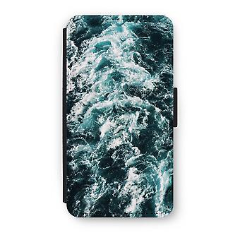 iPhone X Flip Case - Ocean Wave
