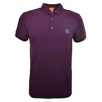 Hugo Boss Orange Men's Slim Fit Plum Pavlik Polo Shirt
