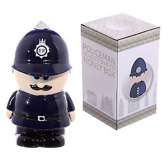 Mealheiro cerâmica de policial