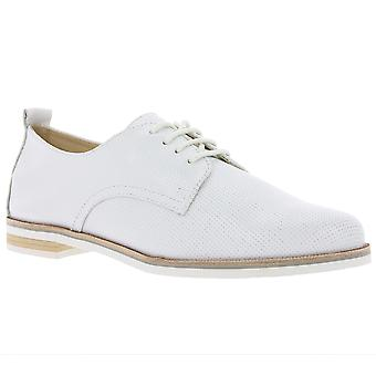 CAPRICE leather shoes ladies white