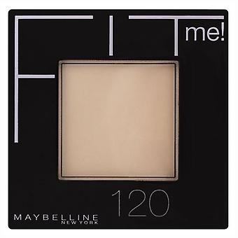 Maybelline Pressed Powder Fit Me 120 Classic Ivory (Make-up , Face , Mattifying powders)