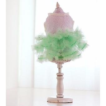 Candy Green Tutu Skirt Dog Dress