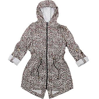 Brave Soul Womens/Ladies Rayleopard Lightweight Fashionable Mac Jacket Coat