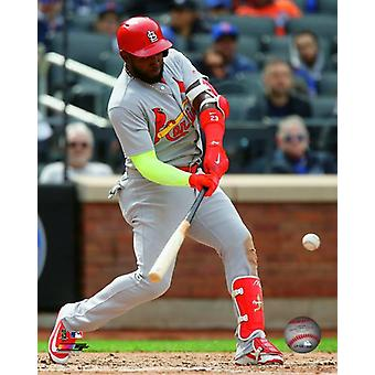 Marcell Ozuna 2018 Action Photo Print