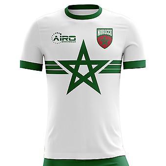 2018-2019 Marokko weg Concept voetbalshirt (kinderen)