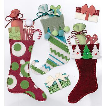 Jolee's Boutique Dimensional Stickers-Stuffed Stockings