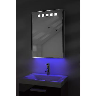 Omgivande badrum skåp med Sensor & inre Shaver Socket k259