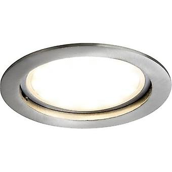Paulmann Coin 92787 LED recessed light 14 W Warm white Iron (brushed)