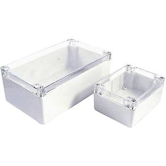 Axxatronic 7200-2058C Build-in casing 360 x 200 x 150 Polycarbonate (PC) White, Clear 1 pc(s)