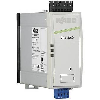 WAGO EPSITRON® PRO POWER 787-842 Rail mounted PSU (DIN) 24 Vdc 20 A 480 W 1 x