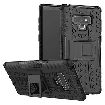 Samsung Galaxy touch 9 N960 N960F hybrid case 2 piece SWL outdoor black bag case cover protection