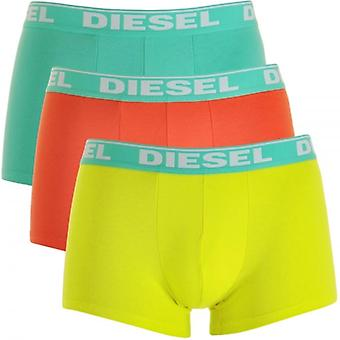 Diesel Fresh And Bright UMBX-Shawn 3-Pack Boxer Green / Orange / Yellow, X-Large