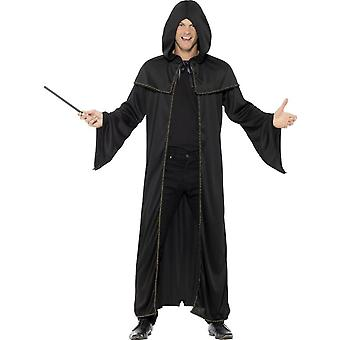 Wizard Cloak, Adult, Black
