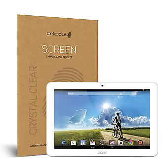 Celicious Vivid Invisible Glossy HD Screen Protector Film Compatible with Acer Iconia Tab 10 A3-A20 [Pack of 2]