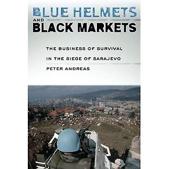 Capacetes azuis e mercados negros