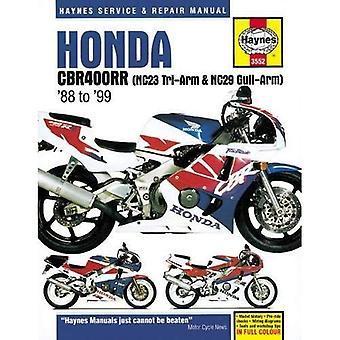 Honda CBR400RR Fours Motorcycle Repair Manual