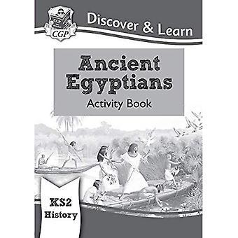 KS2 nuevo descubrir y aprender: Historia - libro de actividades de egipcios
