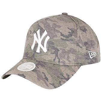 New Era A-Frame Damen Cap - JERSEY NY Yankees washed camo