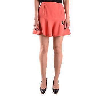 Elisabetta Franchi rojo falda de poliéster
